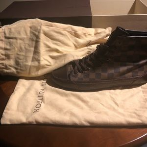 LV Damier Sneakers/Boots